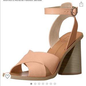 Dolce vita Athena nude heeled sandals